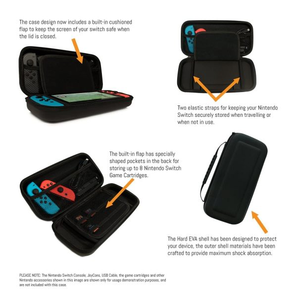 Carry Case Compatible With Nintendo Switch 2