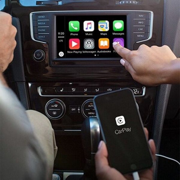 Apple Carplay Dongle, Universal CarPlay Adapter Plug and Play 5