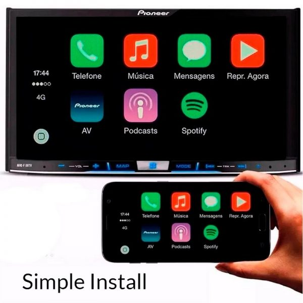 Apple Carplay Dongle, Universal CarPlay Adapter Plug and Play 3