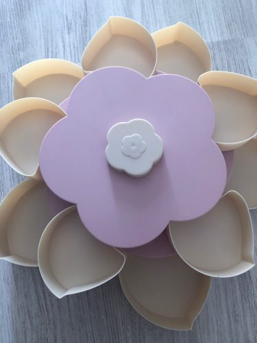 Lotus Snack Holder - Automatic Opening Flower Style photo review