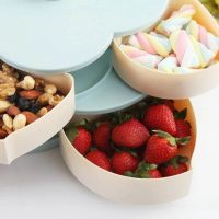 Lotus Snack Holder - Automatic Opening Flower Style 15