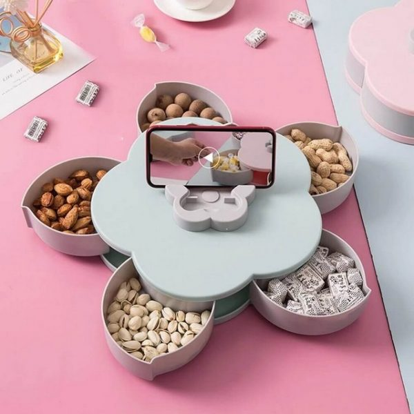 Lotus Snack Holder - Automatic Opening Flower Style 2