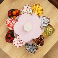 Lotus Snack Holder - Automatic Opening Flower Style 11
