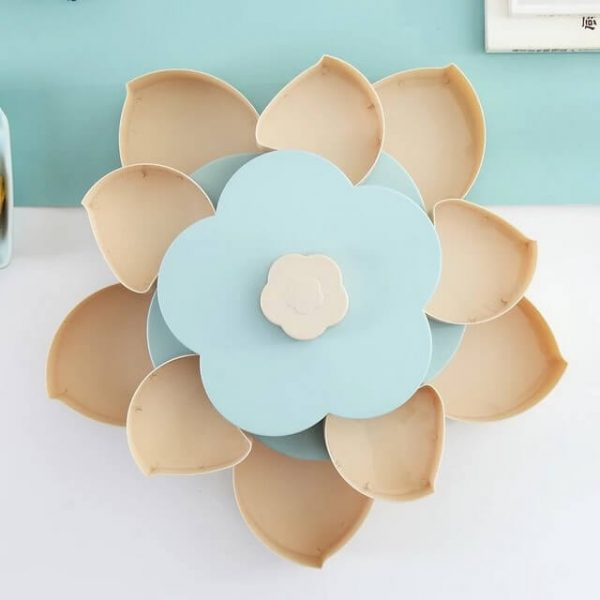 Lotus Snack Holder - Automatic Opening Flower Style 7