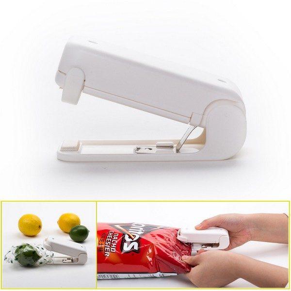 Portable Mini Bag Heat Sealer - Heat Press Machine for Sealing & Resealing Food Storage 1