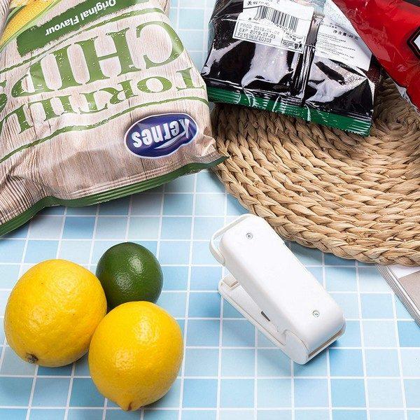 Portable Mini Bag Heat Sealer - Heat Press Machine for Sealing & Resealing Food Storage 3