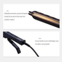 Kibiza Ceramic Tourmaline Ionic Flat Iron Hair Straightener 7