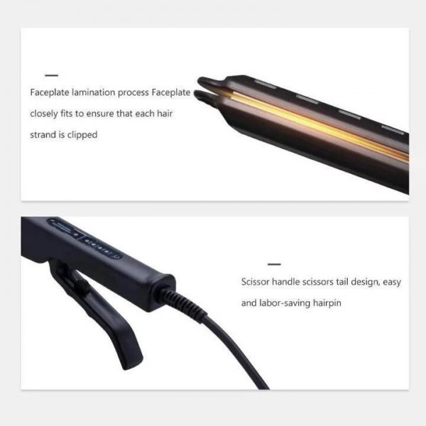 Kibiza Ceramic Tourmaline Ionic Flat Iron Hair Straightener 4