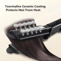 Kibiza Ceramic Tourmaline Ionic Flat Iron Hair Straightener 5