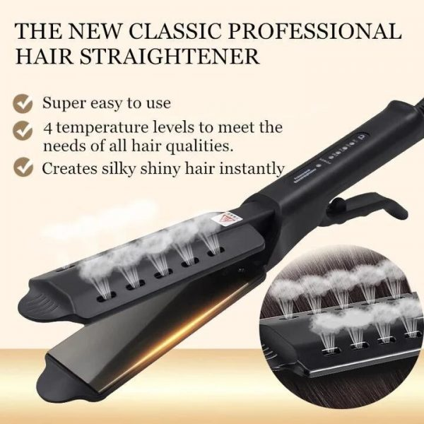 Kibiza Ceramic Tourmaline Ionic Flat Iron Hair Straightener 3