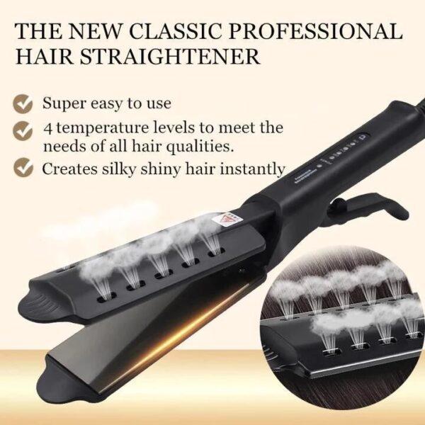 Kibiza Ceramic Tourmaline Ionic Flat Iron Hair Straightener 3