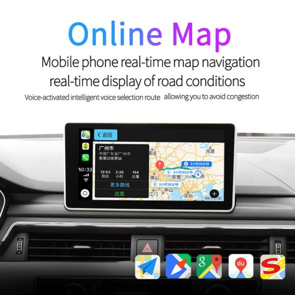 CarPlay adapter to convert wired CarPlay to wireless for original car head unit 3
